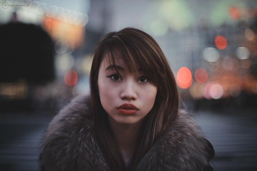 Maria on Shibuya Crossing