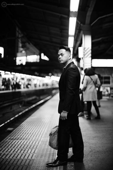 Portrait commission: Shimbashi Station