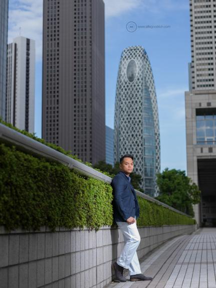 Jason Donato in Shinjuku