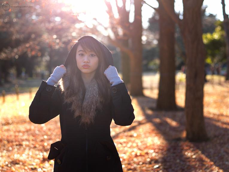 Maria in Yoyogi Park
