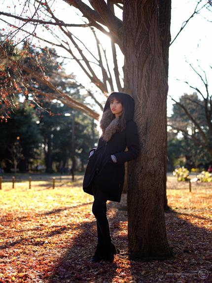 Portraits in Yoyogi Park, Tokyo