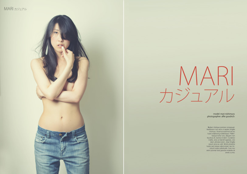 New shoot for Mari