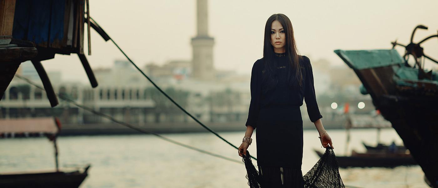 Fashion photography in Dubai by Tokyo based photographer