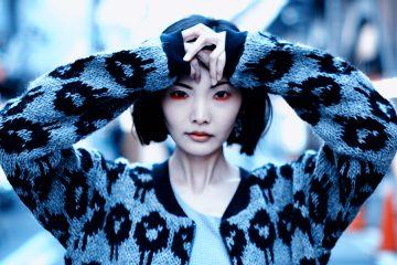 "Fashion shooting for Faroe Islands' ""Shisa Brand"" in Tokyo"