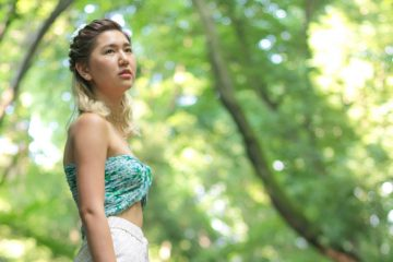 Fashion photographer in Tokyo, Japan: shooting with Kiko in Todoroki