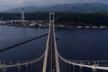 Photographing Muroran in Hokkaido for NHK World