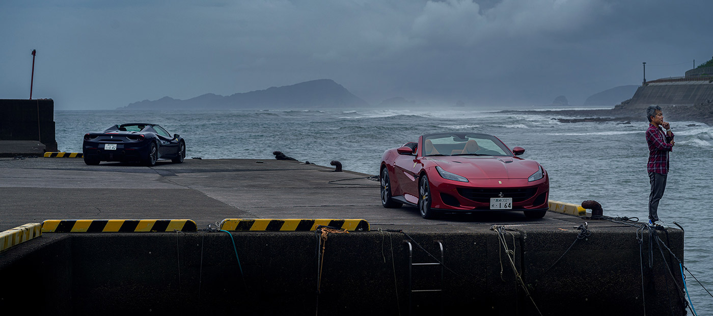 Shooting in Miyazaki, Kyushu, Japan for The Official Ferrari Magazine