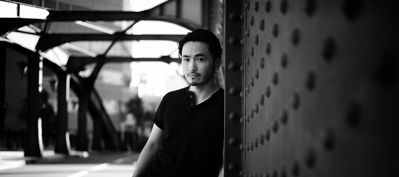 Portrait photography for a Tokyo actor