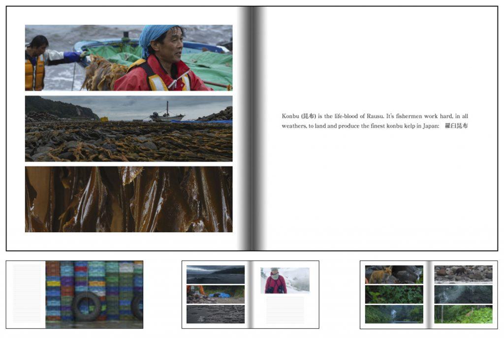Photobook of shots from Rausu in Hokkaido by Alfie Goodrich